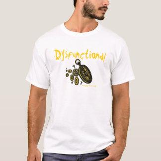 Dysfunktioneller lustiger T - Shirtentwurf T-Shirt