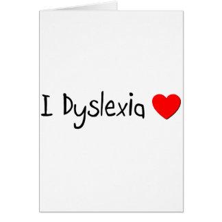 Dyslexie Karte