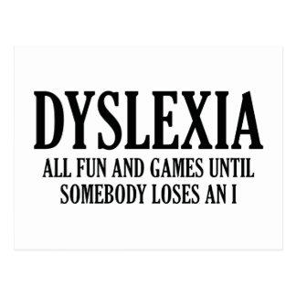 Dyslexie Postkarte