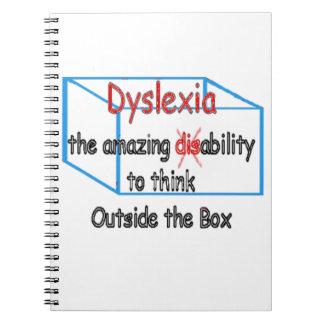 Dyslexie, Unfähigkeit der Fähigkeit nicht! Spiral Notizblock