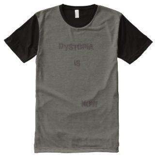 Dystopia ist jetzt T-Shirt mit komplett bedruckbarer vorderseite
