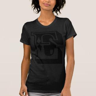 """""""E-"""" Alphabet-Buchstabe-T-Stück T-Shirt"""