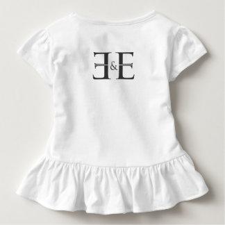 E&E Kleinkind-Rüsche-T-Stück Kleinkind T-shirt