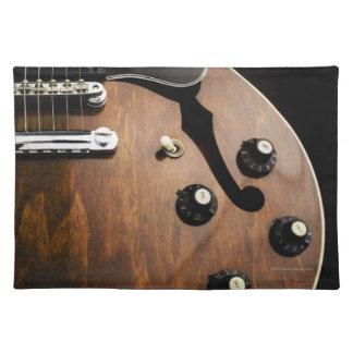 E-Gitarre 3 Tischsets