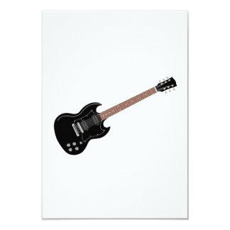 E-Gitarre 8,9 X 12,7 Cm Einladungskarte