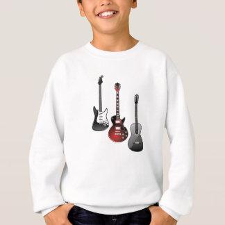 E-Gitarre, Akustikgitarre Sweatshirt