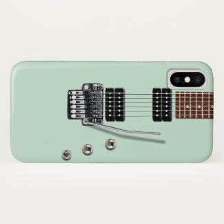 E-Gitarre iPhone X Hülle
