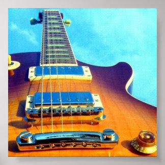 E-Gitarre Plakate