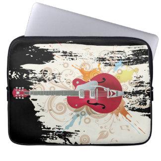 E-Gitarren-Entwurf Laptopschutzhülle