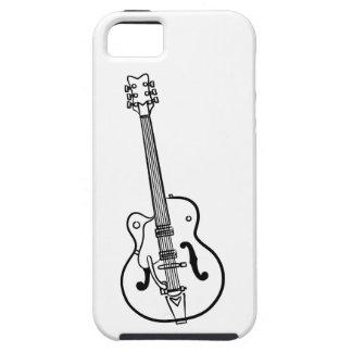 E-Gitarren-Grafik - iPhone schützender Fall iPhone 5 Hülle