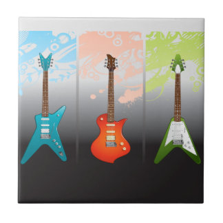 E-Gitarren-Liebhaber-Traum Keramikfliese