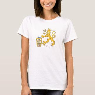 E-INatolle vihjaa suomileijona, t-paita T-Shirt