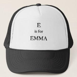 E ist für Emma Truckerkappe
