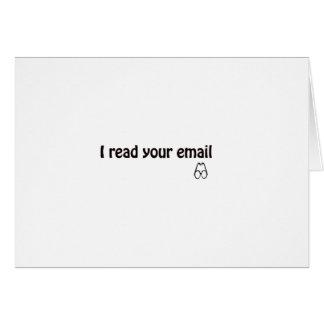 E-Mail Karte