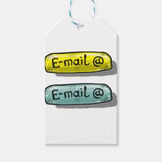 E-Mail-Skizze-Knopf-Netz Geschenkanhänger