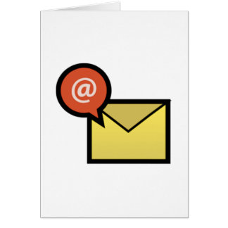 E-Mail-Umschlag Karte