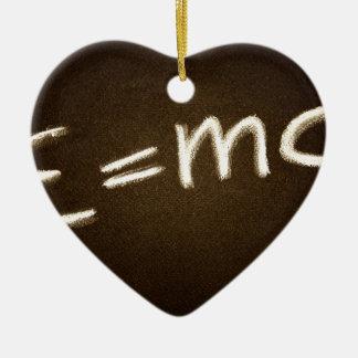 e=mc2… keramik ornament