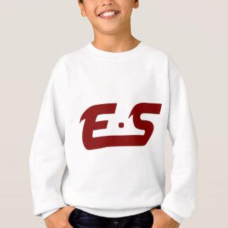 E.S ursprüngliches schlammiges Kastanienbraun Sweatshirt