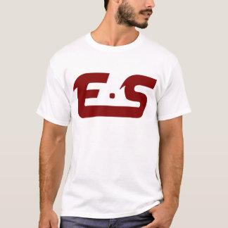 E.S ursprüngliches schlammiges Kastanienbraun T-Shirt