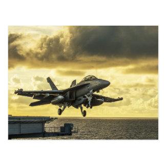 Ea18g Prüfspule-Kampfflugzeug, das weg von der Postkarte