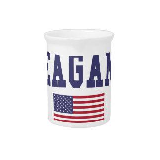 Eagan US Flagge Getränke Pitcher