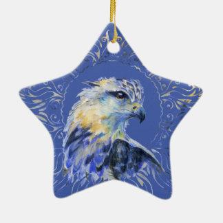 Eagle-Aquarellillustration Keramik Ornament