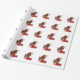 Eagle-Basketball Geschenkpapier