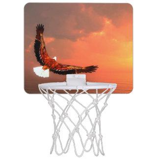 Eagle, das zur Sonne fliegt - 3D übertragen Mini Basketball Netz