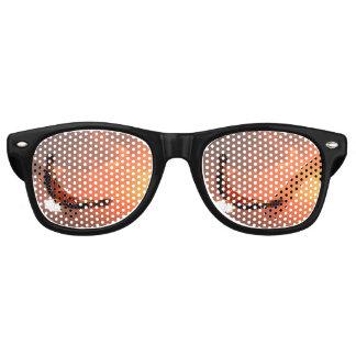 Eagle, das zur Sonne fliegt - 3D übertragen Retro Sonnenbrillen