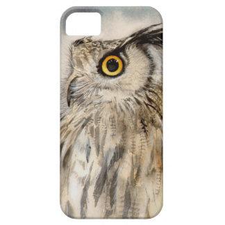 Eagle-Eulen-Tier-realistisches Porträt iPhone 5 Schutzhülle
