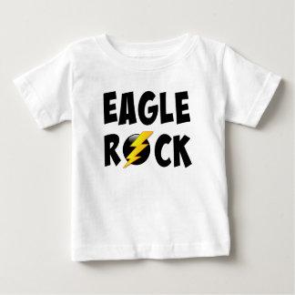 Eagle-Felsen-Blitz-Bolzen Baby T-shirt