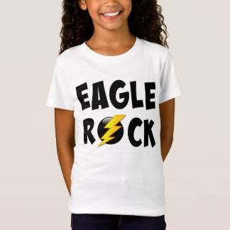 Eagle-Felsen-Blitz-Bolzen T-Shirt