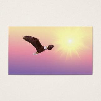 Eagle-Flug Visitenkarte