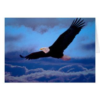 Eagle im Flug Grußkarten