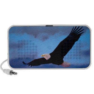 Eagle im Flug Mobiler Speaker