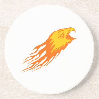 Eagle in den Flammen Untersetzer