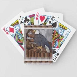 EAGLE König des Raubvogels Bicycle Spielkarten