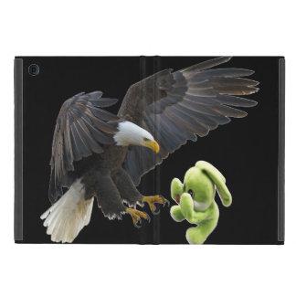 Eagle-Schrecken zu einem Teddybären iPad Mini Schutzhülle