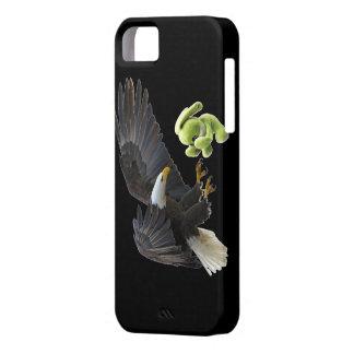 Eagle-Schrecken zu einem Teddybären iPhone 5 Case