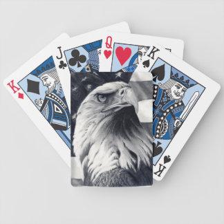 Eagle u. Flaggen-Spielkarten Poker Karten