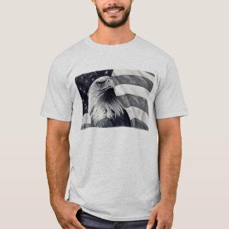 Eagle u. Flaggen-T-Shirt T-Shirt