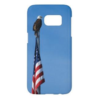 Eagle und amerikanische Flagge - Galaxie 7