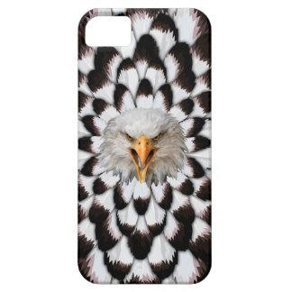 Eagle und Feder Muster-Telefon-Kasten iPhone 5 Schutzhülle