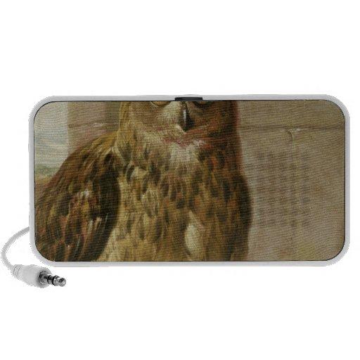 Eagleeule und -katze mit toten Ratten Mini Lautsprecher