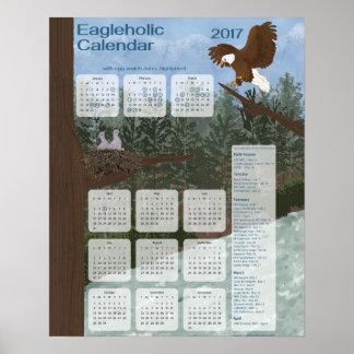 Eagleholic Kalender 2017 Poster