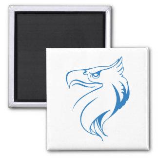 Eagles Kopf Quadratischer Magnet
