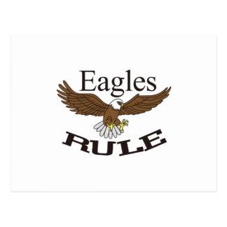 Eagles-Regel Postkarten