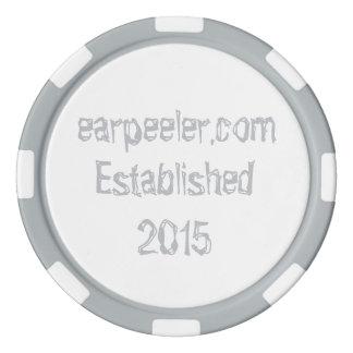 earpeeler Pokerchip Poker Chips