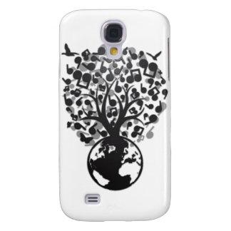 Earth_Music Galaxy S4 Hülle