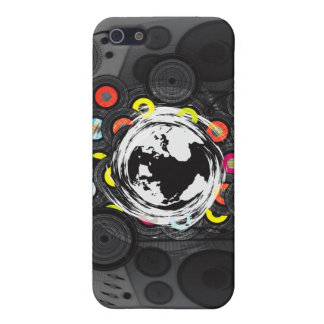 Earth_Music iPhone 5 Case